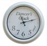 Dancers-Clock-White