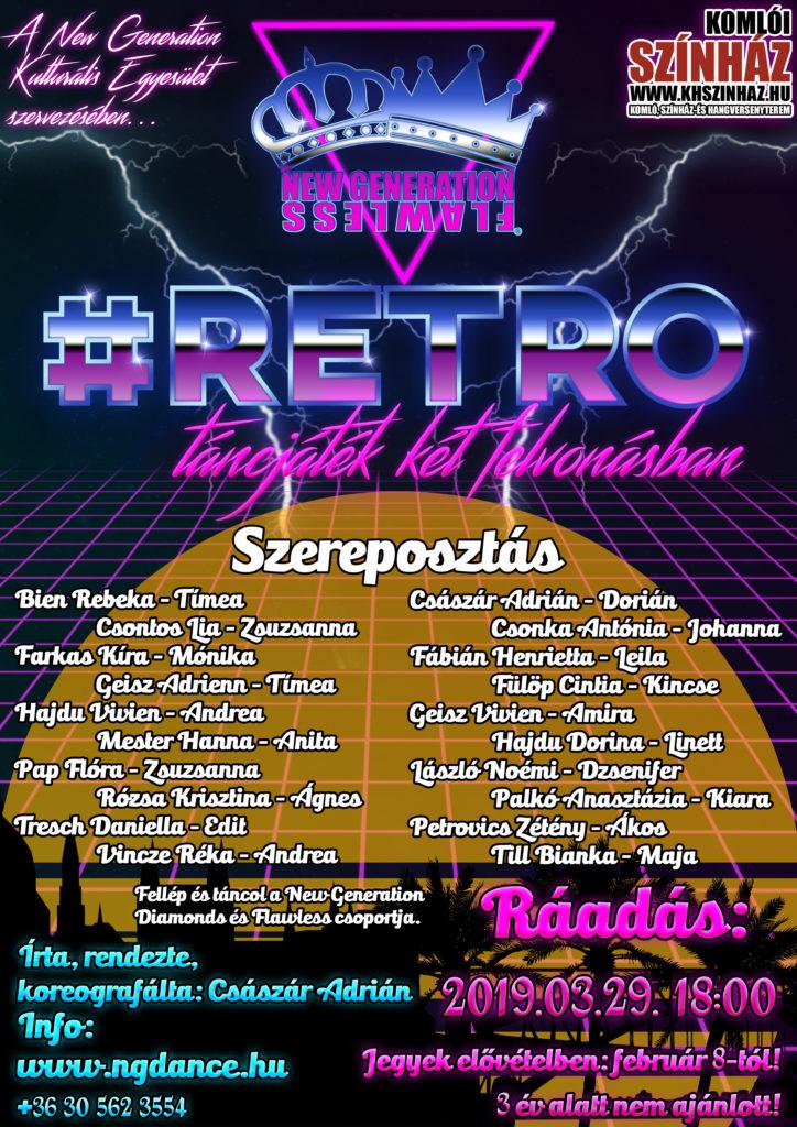 retro plakát ráadás március